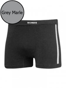 Bonds Side Seam Free Trunk Grey Marle 38246