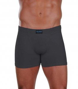 Lord Simple Boxer Brief Underwear Charcoal 1752
