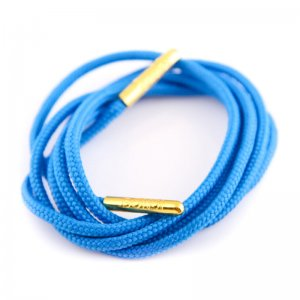 Bondi Laces Dress Laces Bondi Blue / Gold Tips DRESBL3G
