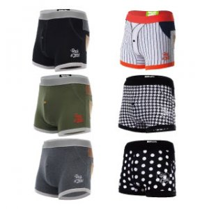 Rock N Fresh [6 Pack] Mikey Package A Boxer Brief Underwear