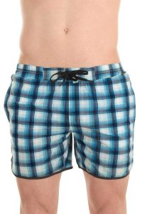 L'Homme Invisible Contour Boardshorts Beachwear Blue BA213-C...