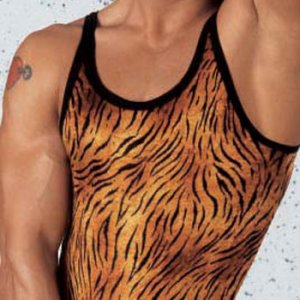 Eros Veneziani T Shirt Hunter Tiger Tank Top 6745