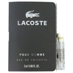 Lacoste Pour Homme Vial (Sample) 0.04 oz / 1.18 mL Men's Fragrance 427226
