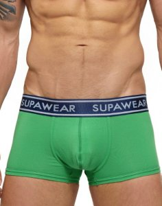 Supawear Supadupa Trunk Boxer Brief Underwear Green