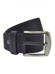 Spazio Patterned Belt Black 3561