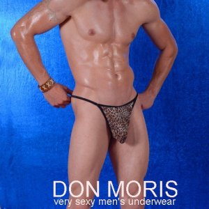 Don Moris Leopard Thong Underwear DM080874