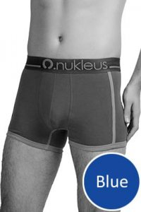 Nukleus Heart Collection Heart & Soul Trunk Underwear Blue N-UE-04