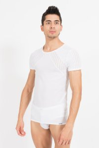 Lookme Trouble Short Sleeved T Shirt White 45-81
