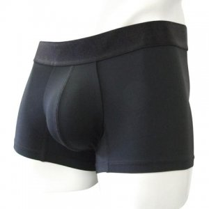 Inizio Classic Fondo Enterno Microfiber Short Boxer Brief Underwear Black 30586