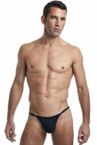 L'Homme Invisible Striptease Thong Underwear Black MY11X-SEN-S01