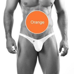 Joe Snyder Bulge Full Bikini BUL04 Orange Underwear & Swimwear