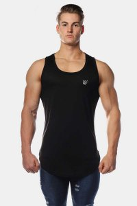 Jed North Vital Muscle Top T Shirt Black JNTOP041