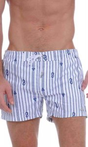 2(x)ist Nautical Knot Ibiza Low Rise Woven Shorts Swimwear White 81012 USA1