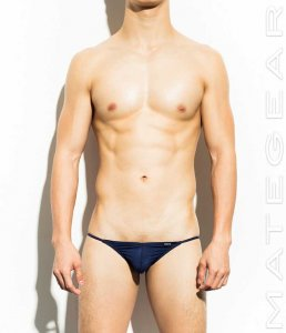 Mategear Yu Mi Air Nylon Extremely Sexy Mini Bikini Underwear Navy 391102
