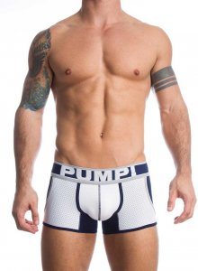 Pump! Marine Jogger Boxer Brief Underwear Navy/White 11030