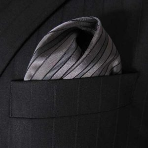 Distino Of Melbourne The Night Owl Pocket Square Handkerchie...