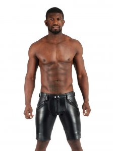 Mister B Leather FXXXer Shorts Black 114200