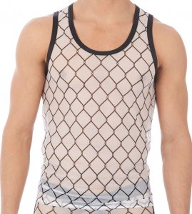 Gregg Homme WIRED Tank Top T Shirt White 140102