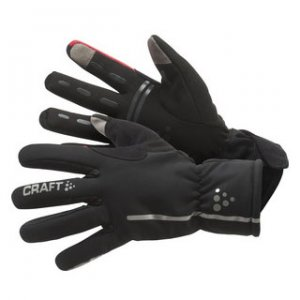 Craft Siberian Bike Gloves Black/Bright Red 1901623