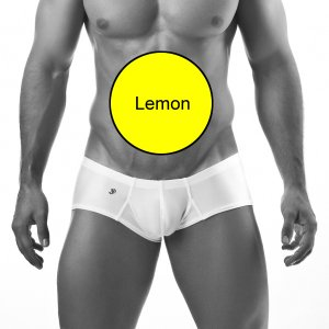 Joe Snyder Cheek Boxer Brief 13 Lemon Yellow Underwear & Swimwear