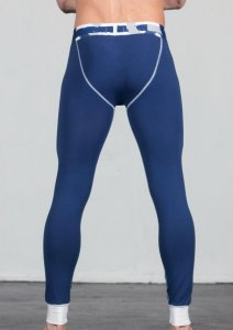 Geronimo Long Johns Long Underwear Pants Blue 1665J6-3