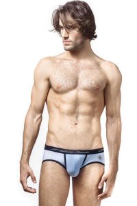 L'Homme Invisible Bodyscape Push Up Brief Underwear Light Blue MY38-BLA-021