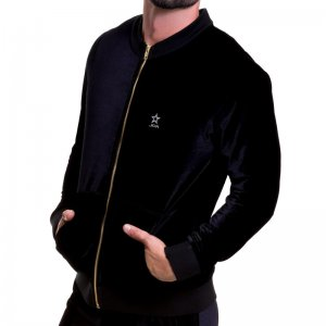 Jor VELVET Jacket Black 0514