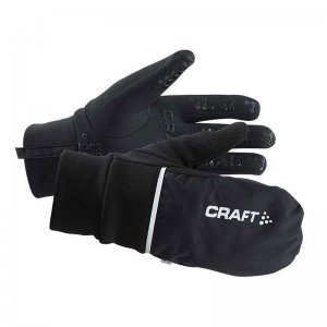 Craft Hybrid Unisex Bike Weather Gloves Black 1903014