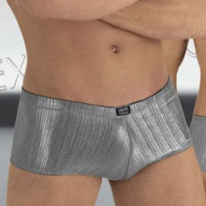 Eros Veneziani Underwear Reflections Boxer Brief Silver 6971