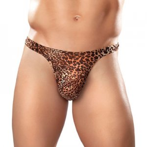 Male Power Animal Print Wonder Thong Underwear 444-030