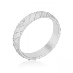 J. Goodin Textured Stainless Steel Band Ring R08435RV-V00