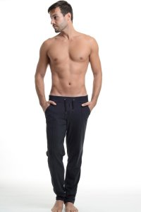 L'Homme Invisible Cosy Lounge Pants Black HW118-COS-001