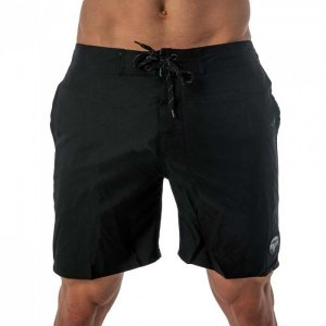 Lord Solid Boardshorts Beachwear Black MA004