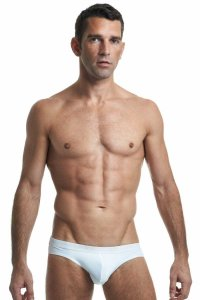L'Homme Invisible Regular Blanc Brief Underwear White MY11C-SEN-S02