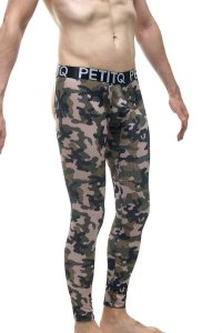 Petit-Q Bottomless Mesh Long Underwear Pants Camo PQ200338