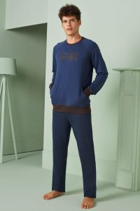 Doreanse Istanbul Contrast Long Sleeved Sweater & Pants Set ...