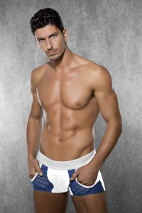 Doreanse Pocket Boxer Brief Underwear White 1762