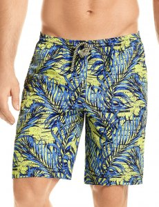 Hawai Palm Boardshorts Beachwear Blue 51904