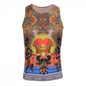 Andreas Diofebi The Second Coming Karamu Muscle Top T Shirt