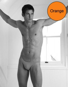 Kiniki Micro Brief Underwear Orange MIC