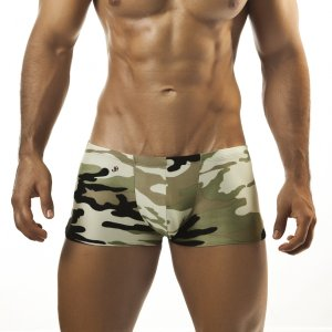 Joe Snyder Camo Boxer Brief 08CAMO Underwear & Swimwear