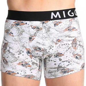 MIGO UFO Boxer Brief Underwear White