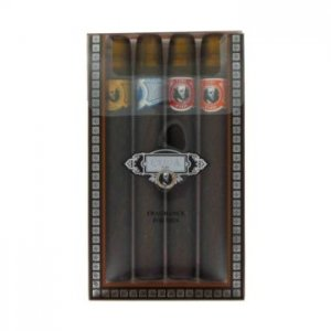 Fragluxe Cuba Gold Cuba Variety Set Includes All Four Sprays, Cuba Red, Cuba Blue, Cuba Gold And Cuba Orange Gift Set 458299