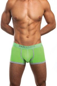 Jack Adams Shorty Boxer Brief Underwear Green/Smoke 401-178