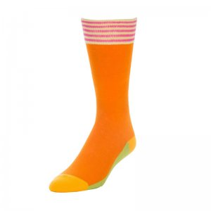 Strollegant CHAMPION Crew Socks Orange