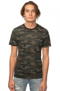 Royal Apparel Unisex Short Sleeved T Shirt Camo 17551CMO