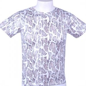 MIIW Snake Short Sleeved T Shirt White