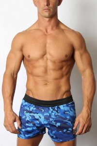 CellBlock 13 Foxhole Mesh Shorts Blue CBS179