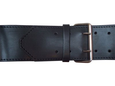 Mister B Leather 2 D Rings 8cm Belt 420600