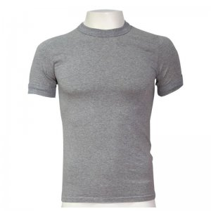 Minerva Sporties Basic Vest Muscle Top T Shirt Grey 10130